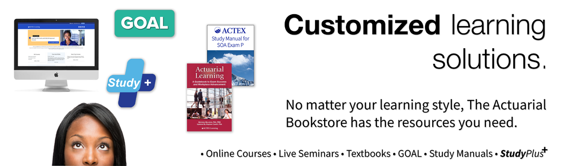 customized learning solutions for actuarial exam prep